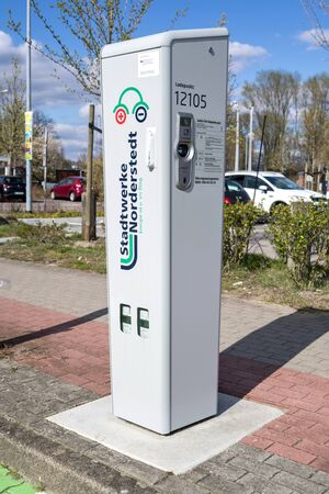 electric vehicle charging station of Stadtwerke Norderstedt