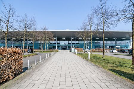Munster Osnabruck International Airport, a minor international airport in the German state of North Rhine-Westphalia.