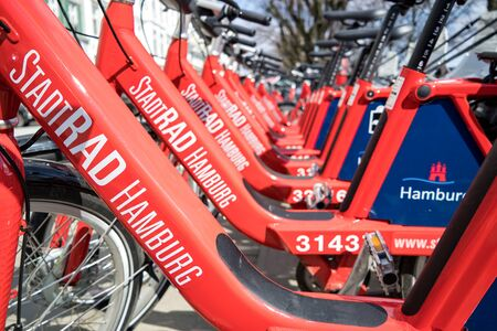 StadtRAD Hamburg bikes. StadtRAD Hamburg is a public bicycle rental system operated by Deutsche Bahn Connect. It is the most used bicycle rental system in Germany. Editöryel