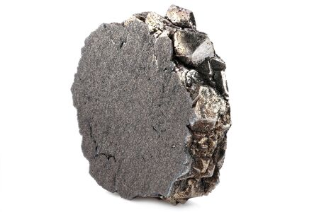 99.99% fine zirconium isolated on white background
