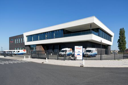 Fix Fisch headquarters in Rijnsburg, The Netherlands. Fix Fisch B.V. is a high quality seafood wholesale company, supplying customers throughout the Netherlands and Germany.