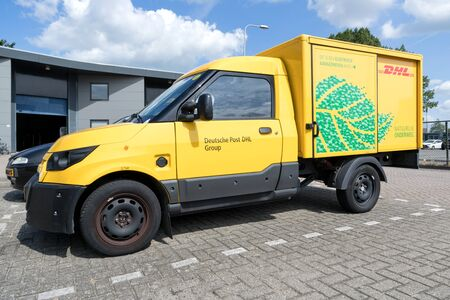 StreetScooter Work of Deutsche Post DHL. StreetScooter is an electric vehicle manufacturer and has been owned by Deutsche Post DHL Group since 2014.