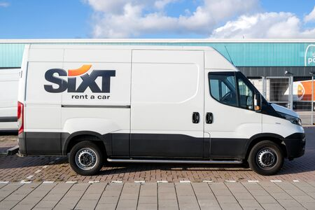 Iveco Daily of Sixt. Sixt SE is a European multinational car rental company with about 4,000 locations in over 100 countries. Editorial