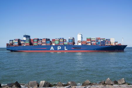 APL LION CITY inbound Rotterdam. APL, along with its parent company CMA CGM, is the worlds third-largest container transportation and shipping company.