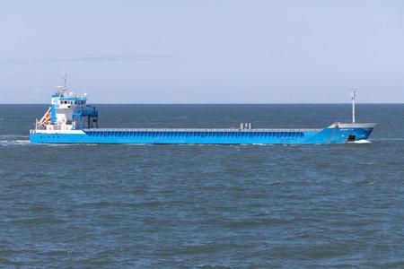 General cargo vessel JEANETTE inbound Rotterdam.