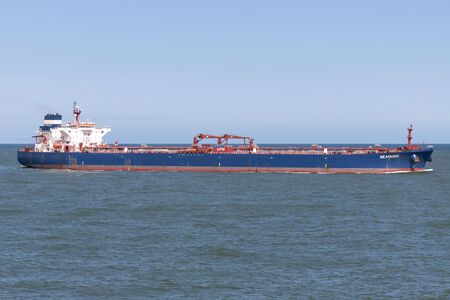 oil tanker SEAMUSIC inbound Rotterdam Editorial