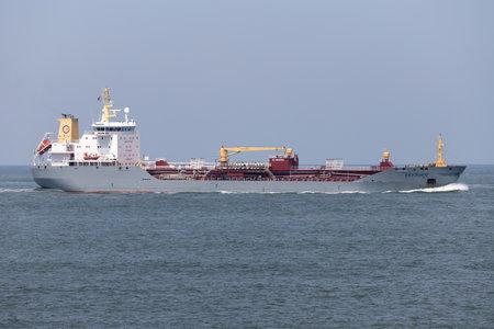 oil products tanker EKFJORD inbound Rotterdam