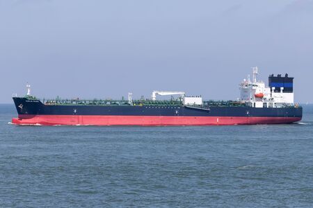 tanker MARLIN MAGIC outbound Rotterdam