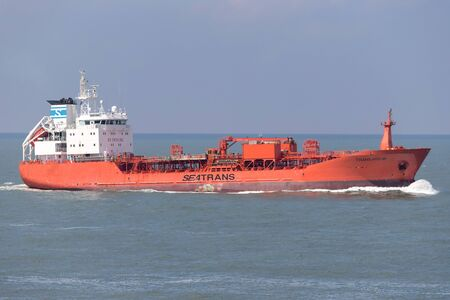 chemical tanker TRANS HOLM inbound Rotterdam Editorial