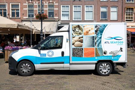 ATL Seafood delivery van. Editorial