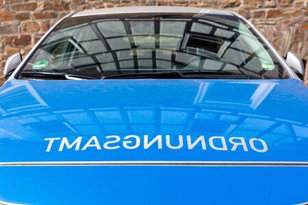 lettering at patrol car of German Ordnungsamt (order enforcement office)