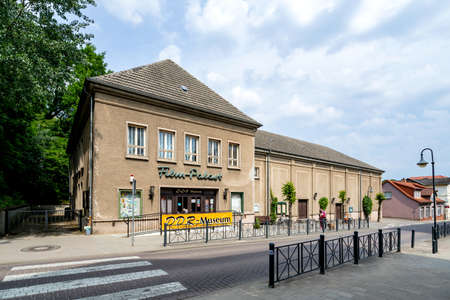 DDR Museum in a former cinema in Malchow, Germany.