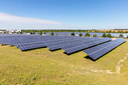 ground mounted photovoltaic power station