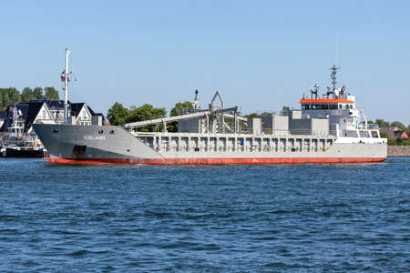cement carrier ICELAND outbound Rostock Éditoriale
