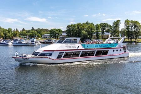 excursion boat KLINK of Weisse Flotte Müritz Éditoriale