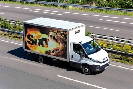 Sixt Iveco Daily on motorway. Sixt SE is a European multinational car rental company with about 4,000 locations in over 100 countries.
