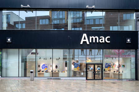 Amac store in Almere, The Netherlands. Amac is the largest Dutch Apple Premium Reseller with 50 stores across the Netherlands.