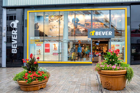 Bever outdoor store in Almere, The Netherlands.