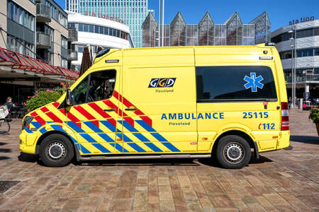 Dutch GGD Flevoland Mercedes-Benz Sprinter ambulance