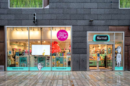Normal branch in Almere, The Netherlands. Normal has more than 220 stores in Denmark, Norway, Sweden, Holland and France. Editoriali
