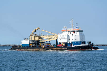 Van Stee Offshore shallow draft multi purpose DP2 support vessel ZWERVER I
