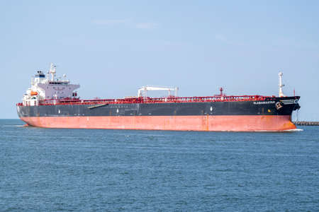 crude oil tanker ALABAMA STAR inbound Amsterdam