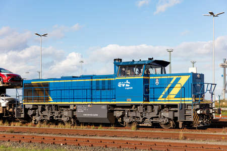 evb Logistik diesel hydraulic MaK / Vossloh G1206 locomotive Editoriali