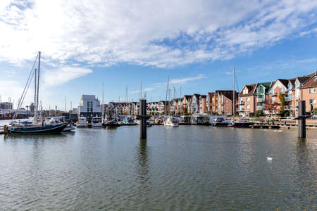 City-Marina in Cuxhaven, Germany