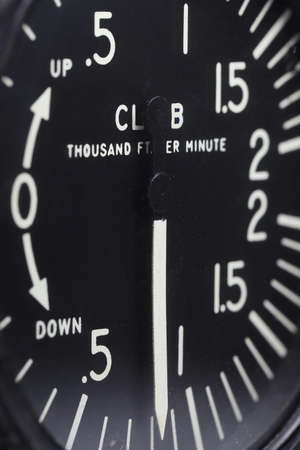 analogue vertical speed indicator of an aircraft