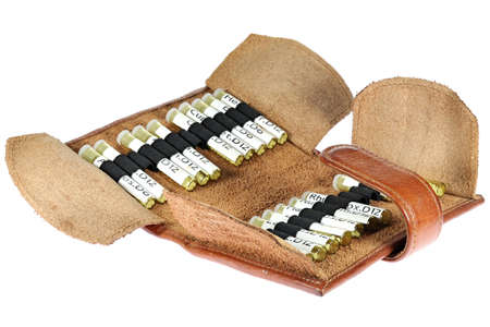 homeopathic first aid kit isolated on wooden background Reklamní fotografie