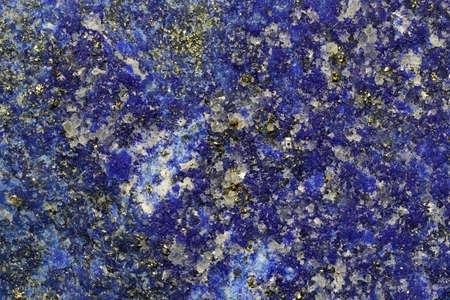 lapis lazuli from Jundak Mine, Afghanistan for background use Archivio Fotografico