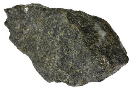 sphalerite (zinc blende) from Bensberg, Germany isolated on white background