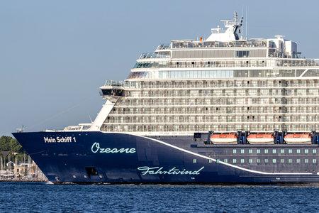 TUI cruise ship Mein Schiff 1 in the Kiel Fjord