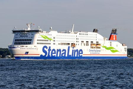 Stena Line ferry STENA SCANDINAVICA in the Kiel Fjord