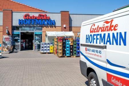 Getraenke Hoffmann beverage store in Kiel, Germany