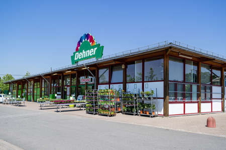 Dehner garden center in Kiel, Germany.