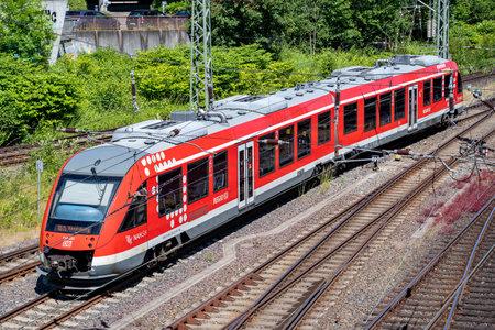 DB Regio Alstom Coradia LINT 41 train