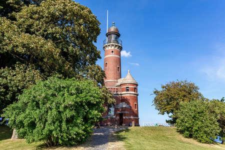 Holtenau Lighthouse in Kiel, Germany Standard-Bild