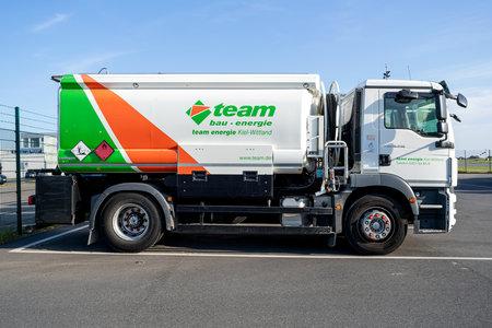 team energie MAN TGM tank truck