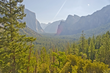 Yosemite Valley from Tunnel View photo