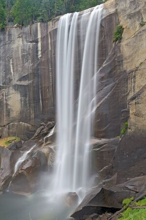 Vernal Falls at Yosemite National Park Stock Photo - 16243598