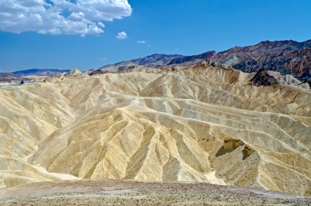 Zabriskie Point, Death Valley, Californie