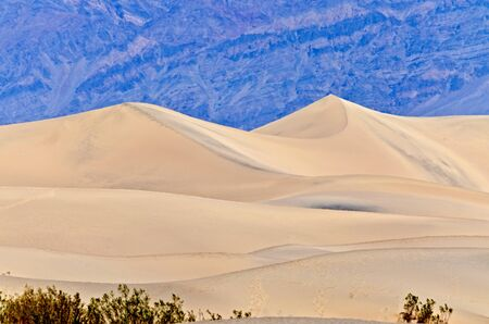 Sand Dunes, Death Valley, California photo