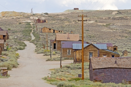 Ghost Town of Bodie, California photo