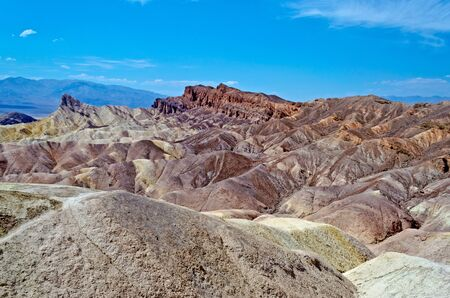 Zabriskie Point, Death Valley, California photo