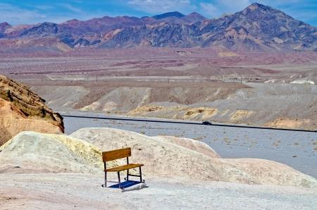 Zabriskie Point, Death Valley, California Stock Photo - 17119861