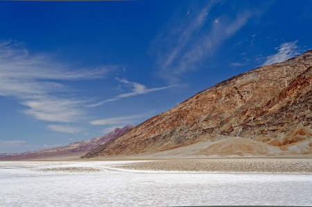 Badwater Basin, Death Valley, Californië