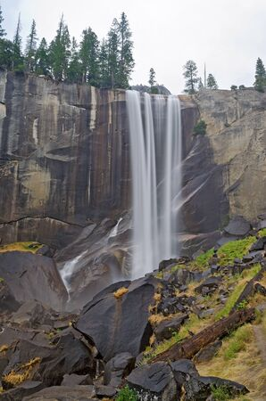 Vernal Falls at Yosemite National Park photo