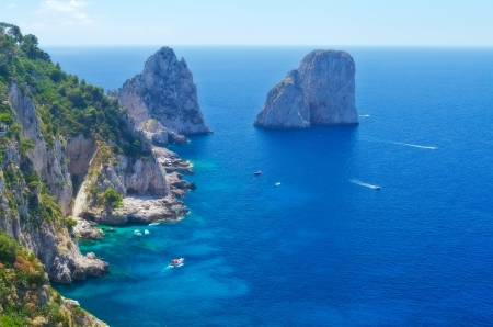 Faraglioni Rocks, Island of Capri photo