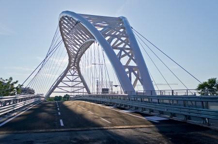 Modern Bridge Stock Photo - 17128075
